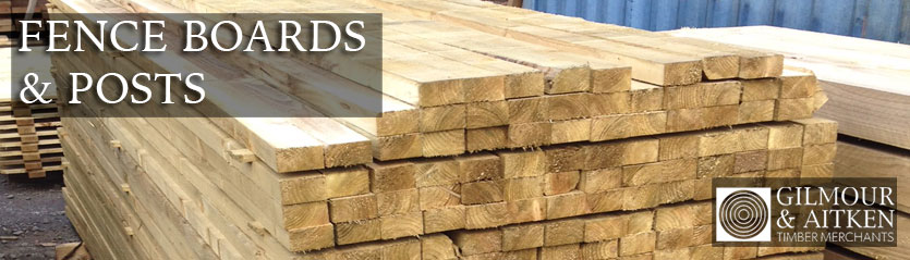 Timber Fence Boards & Posts